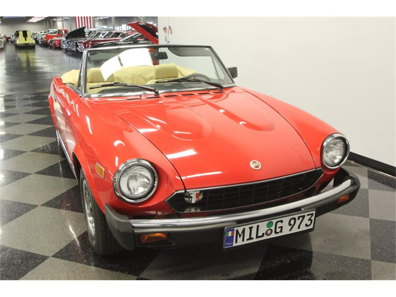Large Picture of 1980 Fiat Spider located in Lutz Florida - $21,995.00 Offered by Streetside Classics - Tampa - Q5HU