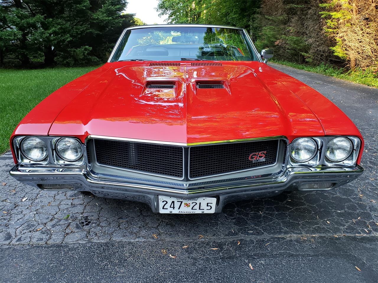 Large Picture of '70 Buick GS 455 located in Maryland - $47,000.00 - Q6WV