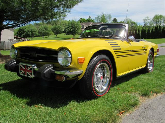 Classic Triumph Tr6 For Sale On Classiccarscom