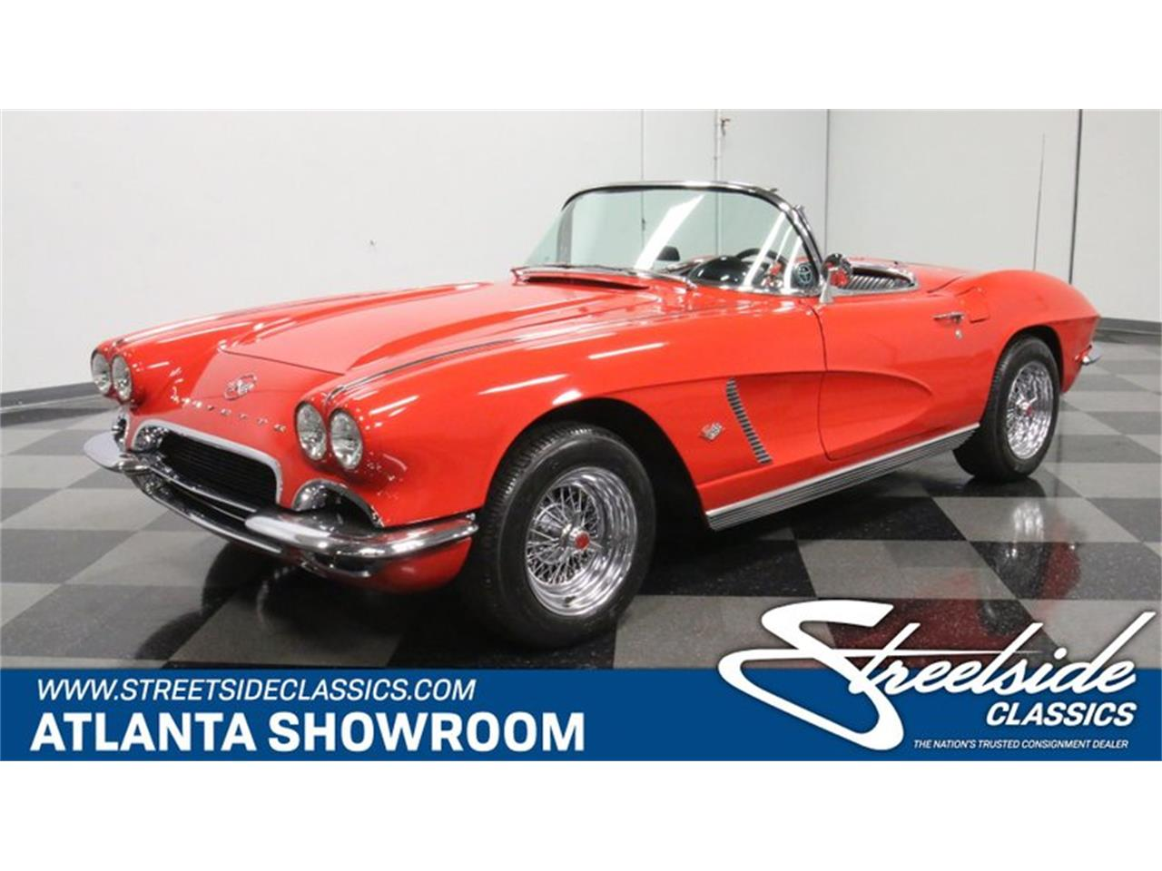 Large Picture of 1962 Chevrolet Corvette located in Georgia - $60,995.00 Offered by Streetside Classics - Atlanta - Q72N