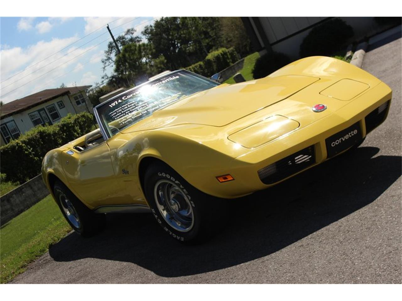 Large Picture of 1974 Chevrolet Corvette located in Florida - $20,997.00 Offered by Skyway Classics - Q5JI