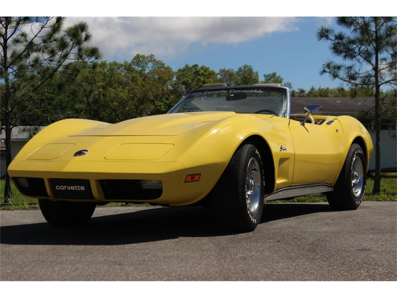Large Picture of '74 Corvette located in Florida Offered by Skyway Classics - Q5JI