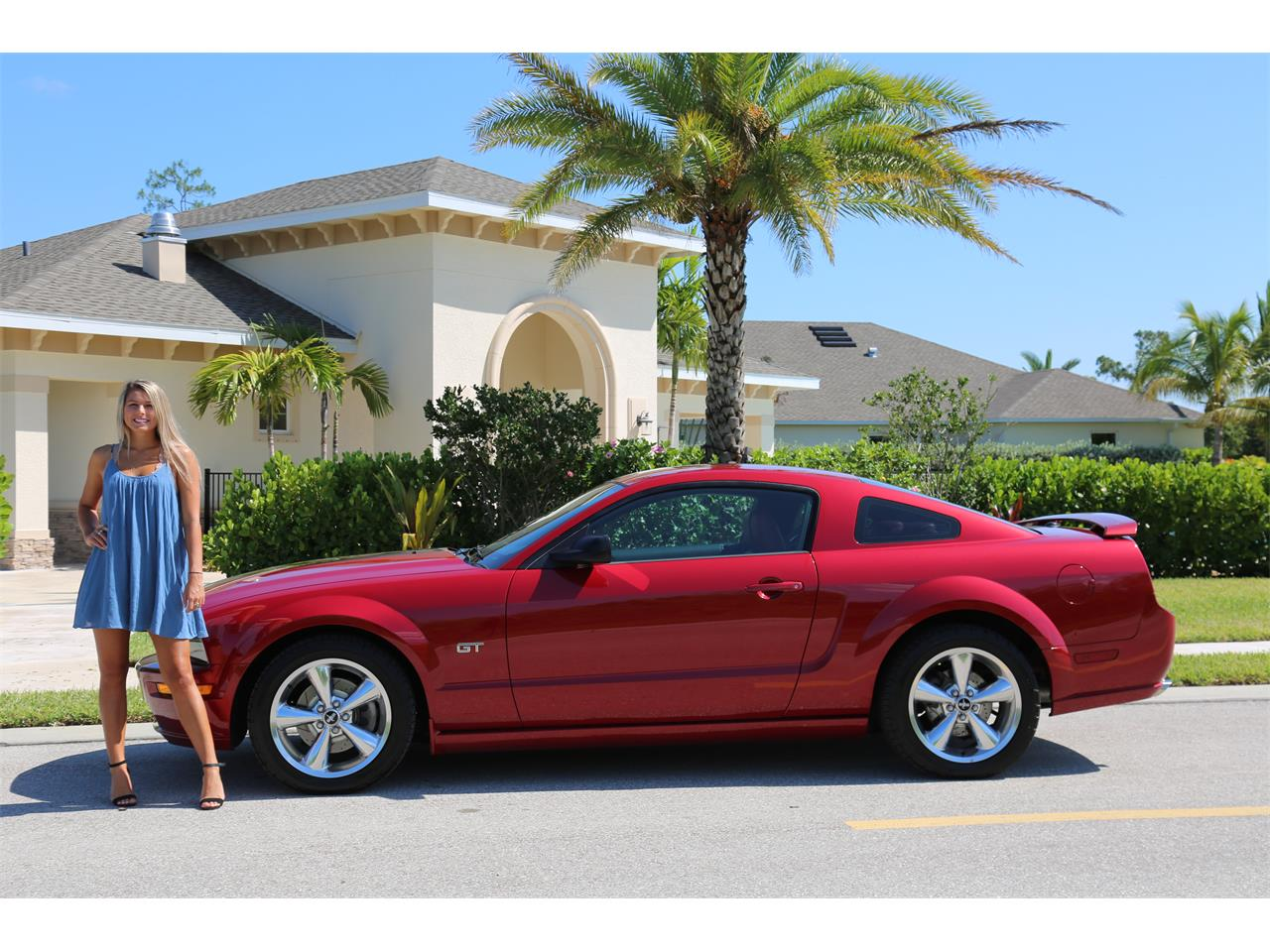 For sale 2008 ford mustang gt in fort myers florida