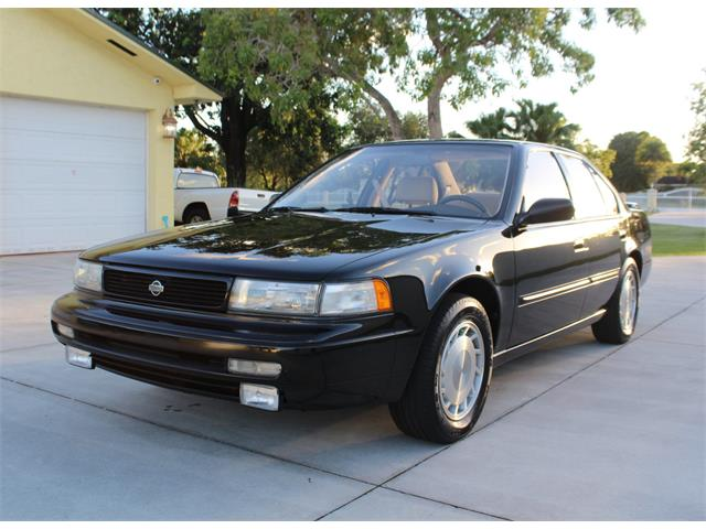 Picture of 1992 Nissan Maxima located in Fort Lauderdale Florida Auction Vehicle - Q5K4