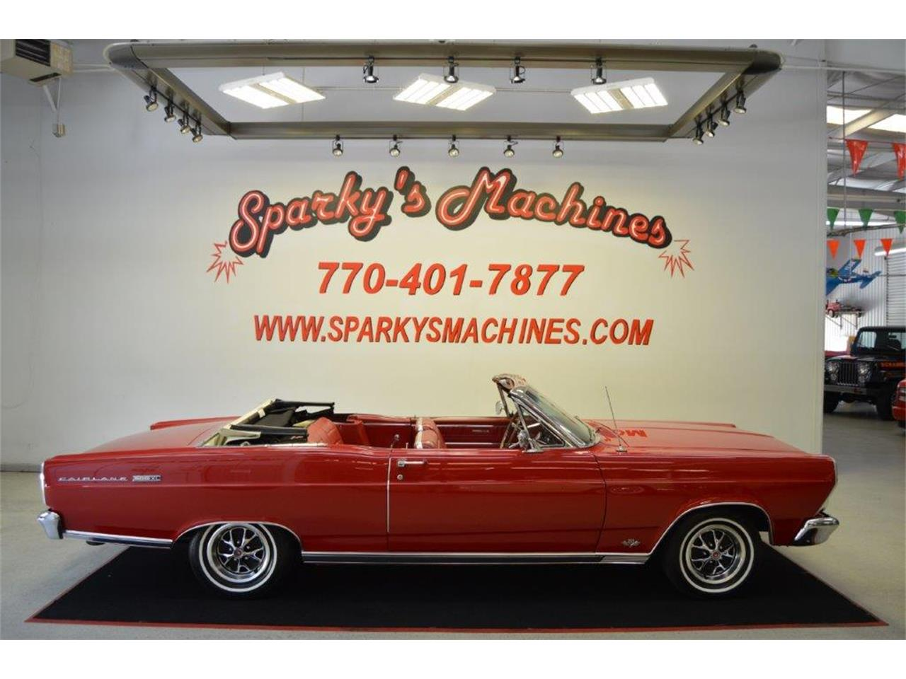 Large Picture of Classic '66 Fairlane 500 XL located in Georgia Offered by Sparky's Machines - Q7MJ
