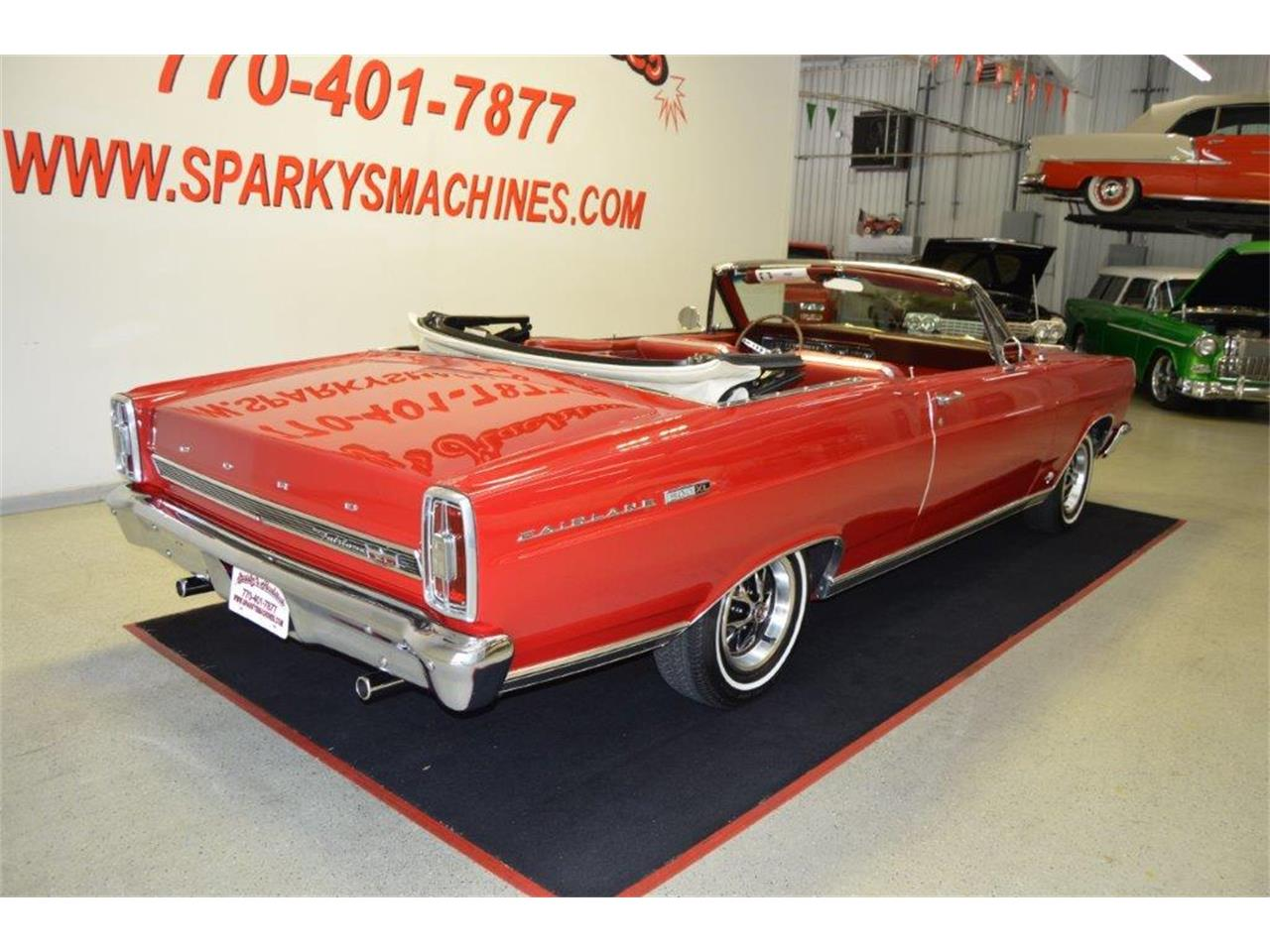 Large Picture of Classic '66 Ford Fairlane 500 XL located in Loganville Georgia Offered by Sparky's Machines - Q7MJ