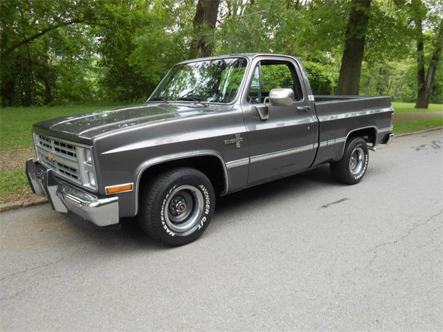 1985 Chevrolet 1/2-Ton Shortbox