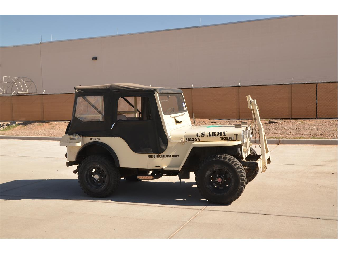 Large Picture of 1951 Willys Jeep located in El Paso Texas - $9,000.00 Offered by a Private Seller - Q80U