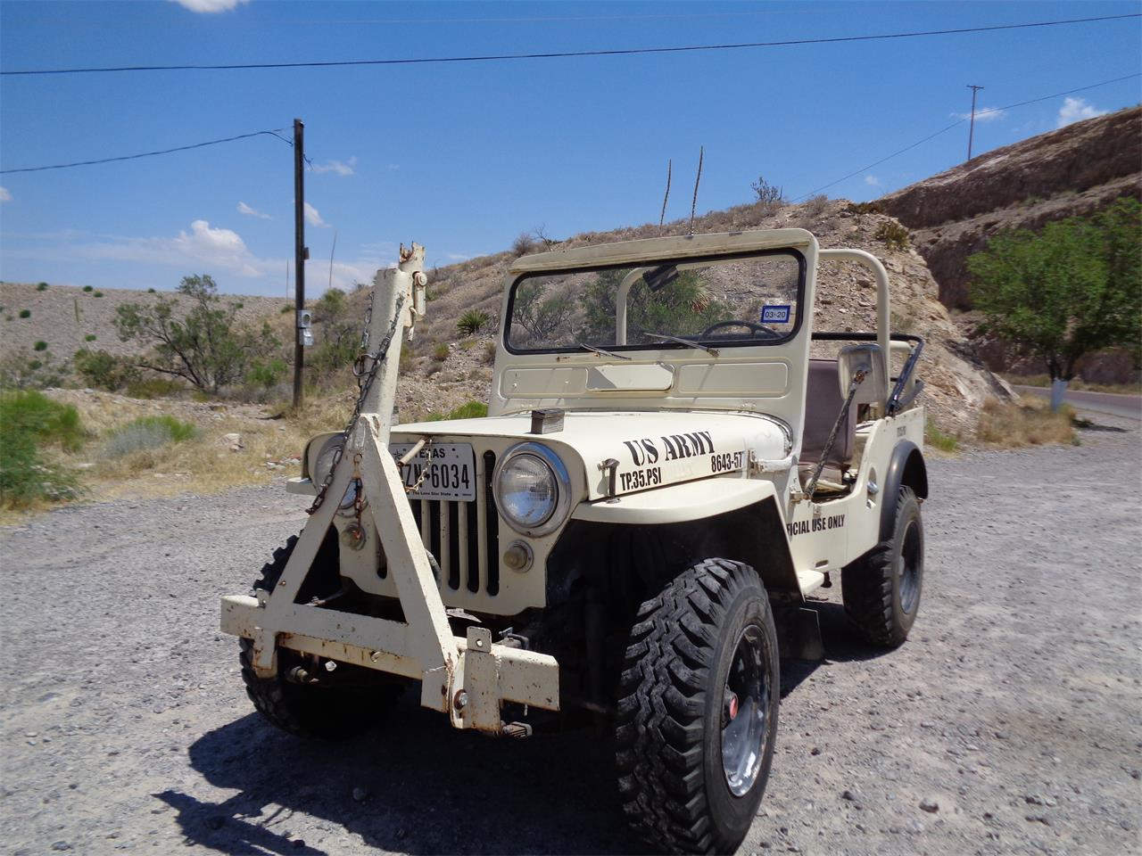 Large Picture of '51 Jeep - Q80U