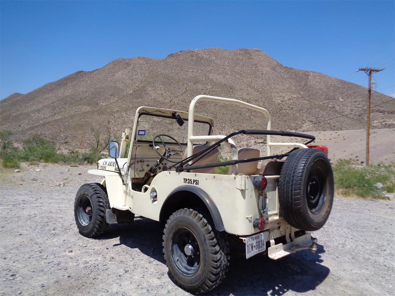 Large Picture of '51 Willys Jeep located in El Paso Texas - Q80U