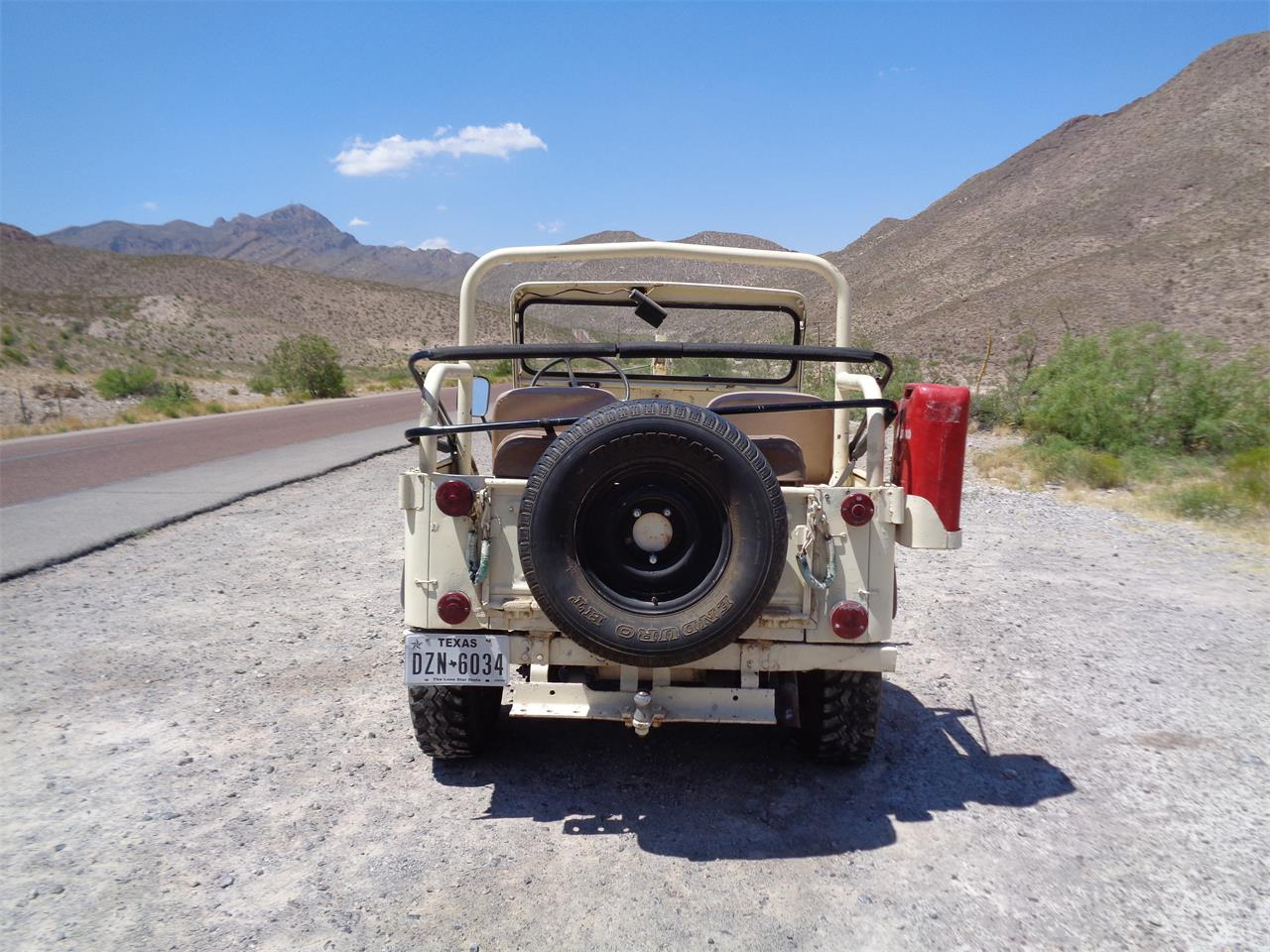Large Picture of Classic '51 Willys Jeep located in Texas - $9,000.00 - Q80U