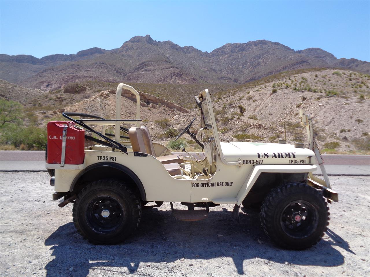 Large Picture of Classic 1951 Jeep located in El Paso Texas - $9,000.00 Offered by a Private Seller - Q80U