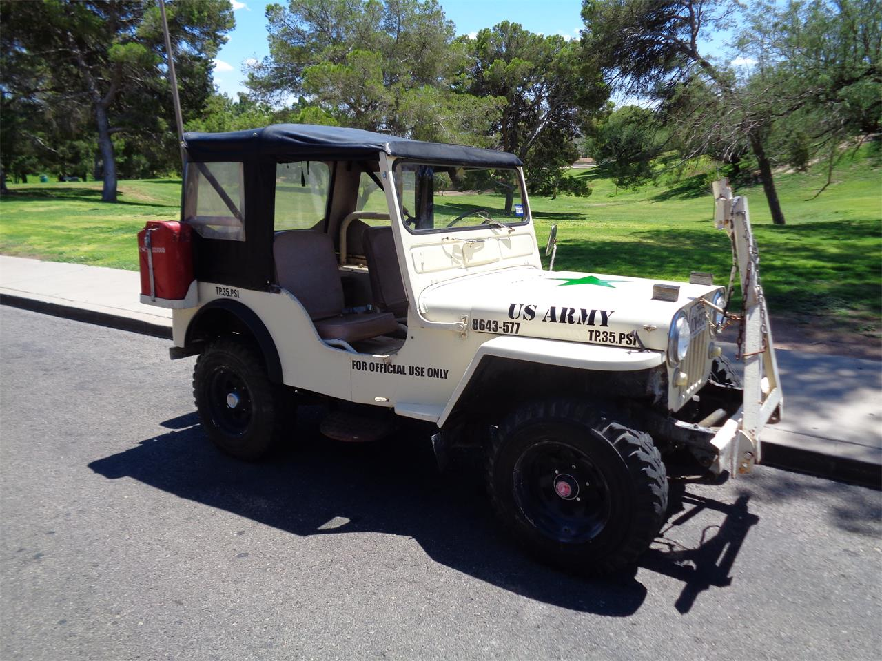 Large Picture of 1951 Jeep located in El Paso Texas - $9,000.00 Offered by a Private Seller - Q80U