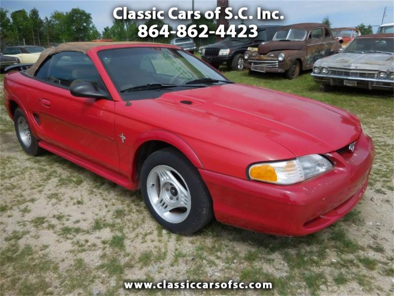 For sale 1998 ford mustang in gray court south carolina