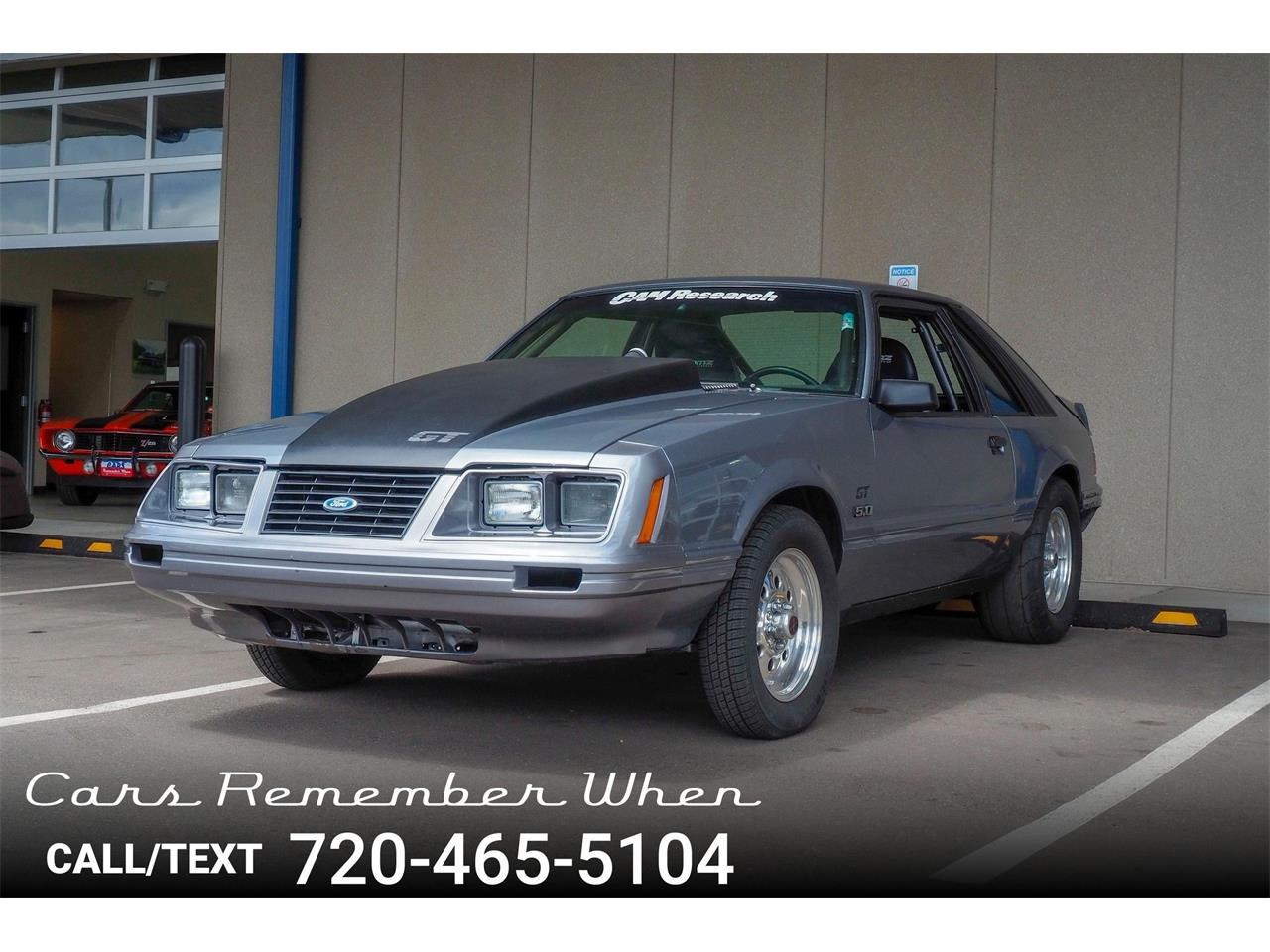 Large Picture of '83 Mustang - Q84V