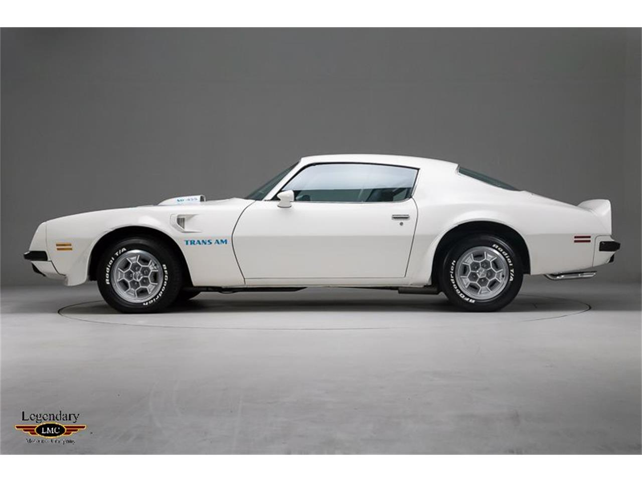 Large Picture of '74 Firebird Trans Am located in Halton Hills Ontario - $59,900.00 Offered by Legendary Motorcar Company - Q5MW