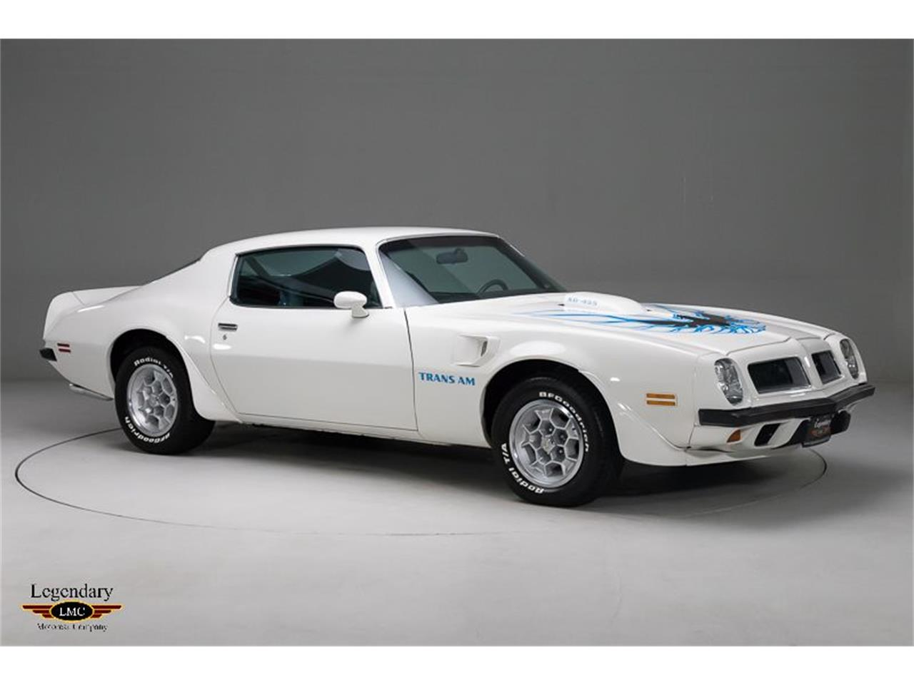 Large Picture of '74 Pontiac Firebird Trans Am located in Ontario Offered by Legendary Motorcar Company - Q5MW