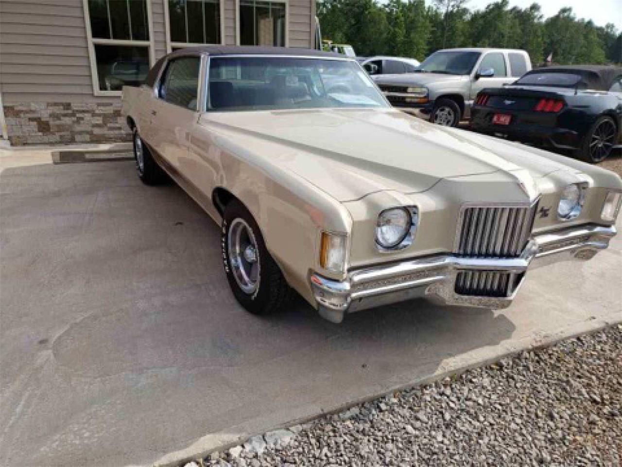 Large Picture of Classic 1971 Pontiac Grand Prix Auction Vehicle Offered by Vicari Auction - Q89E