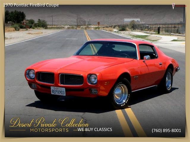 Picture of '70 Firebird - Q8IG
