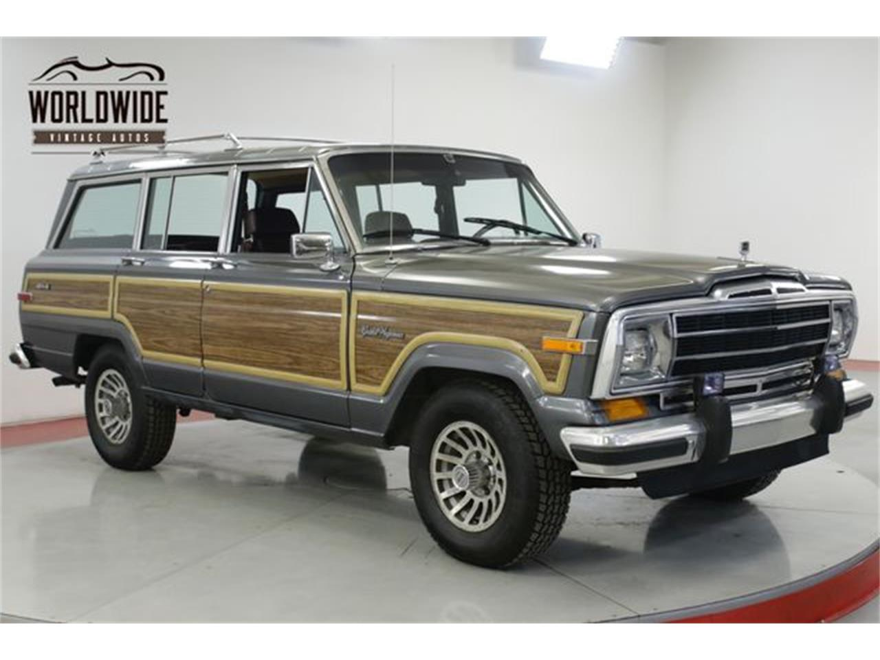 Large Picture of '89 Grand Wagoneer - Q8M9