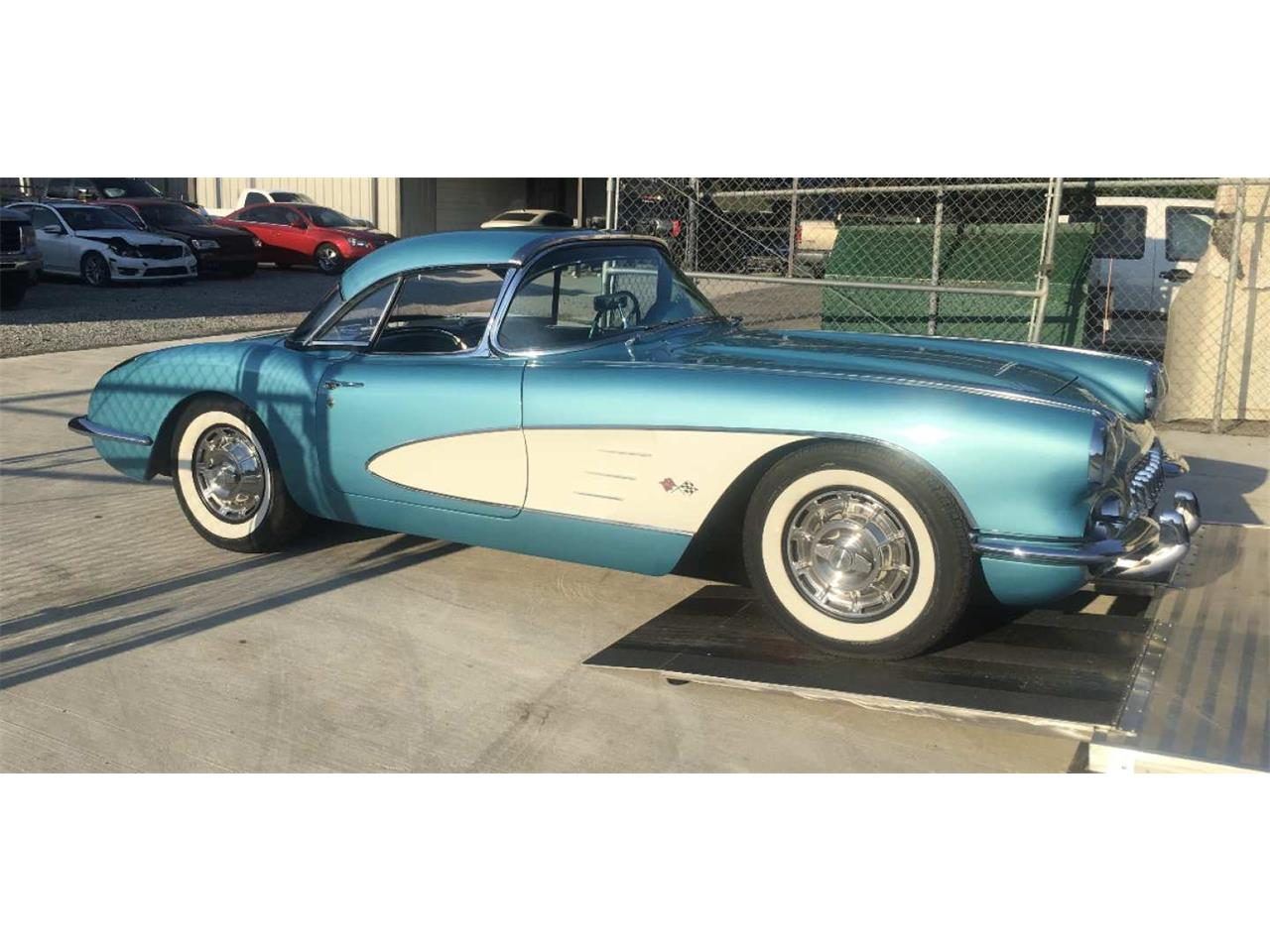 Large Picture of '59 Corvette located in Louisiana Auction Vehicle - Q8R5