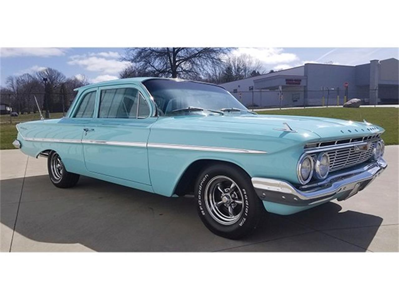 Large Picture of '61 Chevrolet Bel Air located in Greensboro North Carolina Auction Vehicle Offered by GAA Classic Cars Auctions - Q8XB