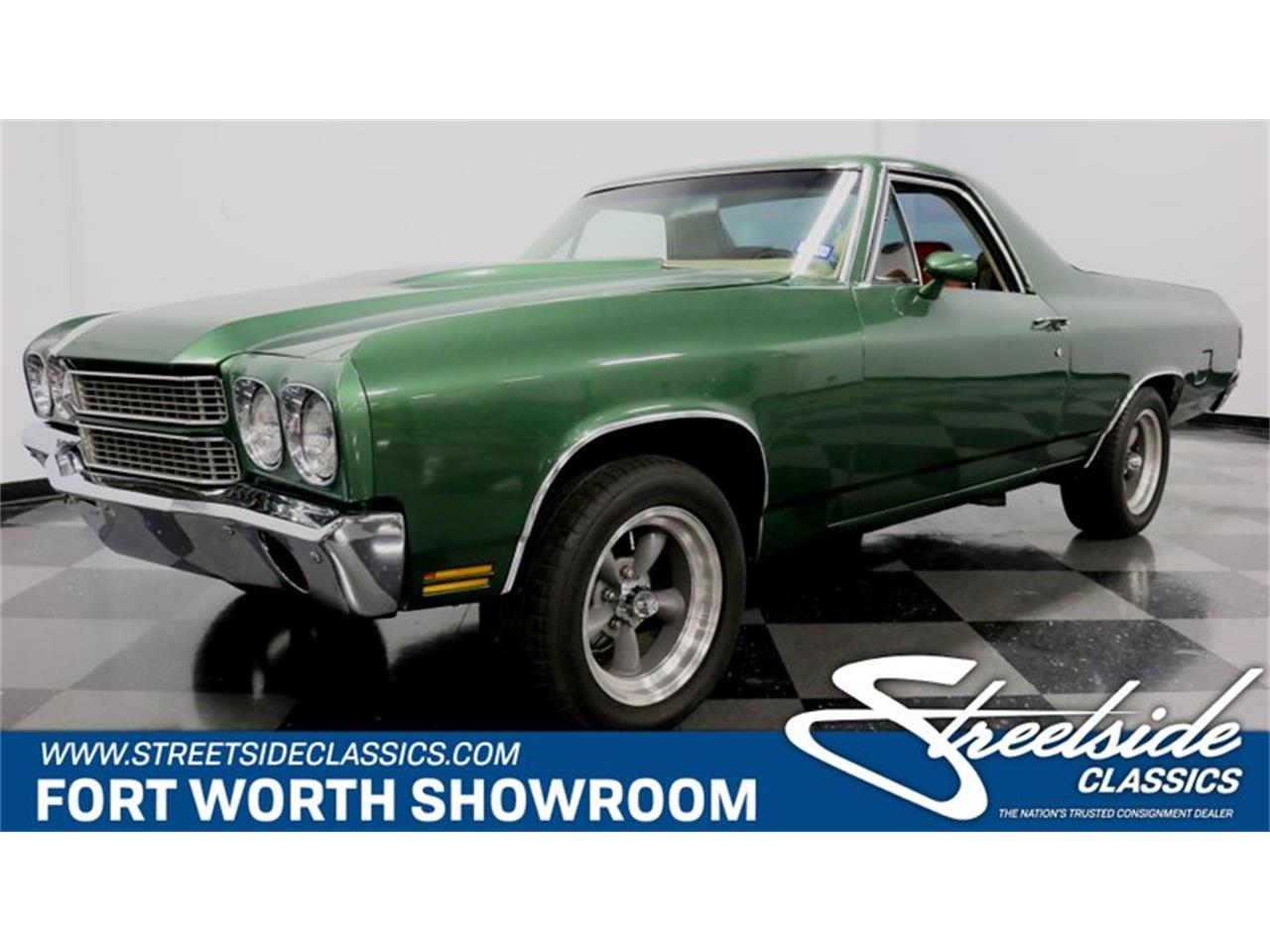 Large Picture of Classic 1970 El Camino located in Texas Offered by Streetside Classics - Dallas / Fort Worth - Q9DT