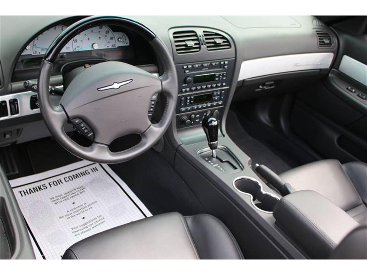 Large Picture of 2002 Ford Thunderbird located in Hilton New York Offered by Great Lakes Classic Cars - Q9HB