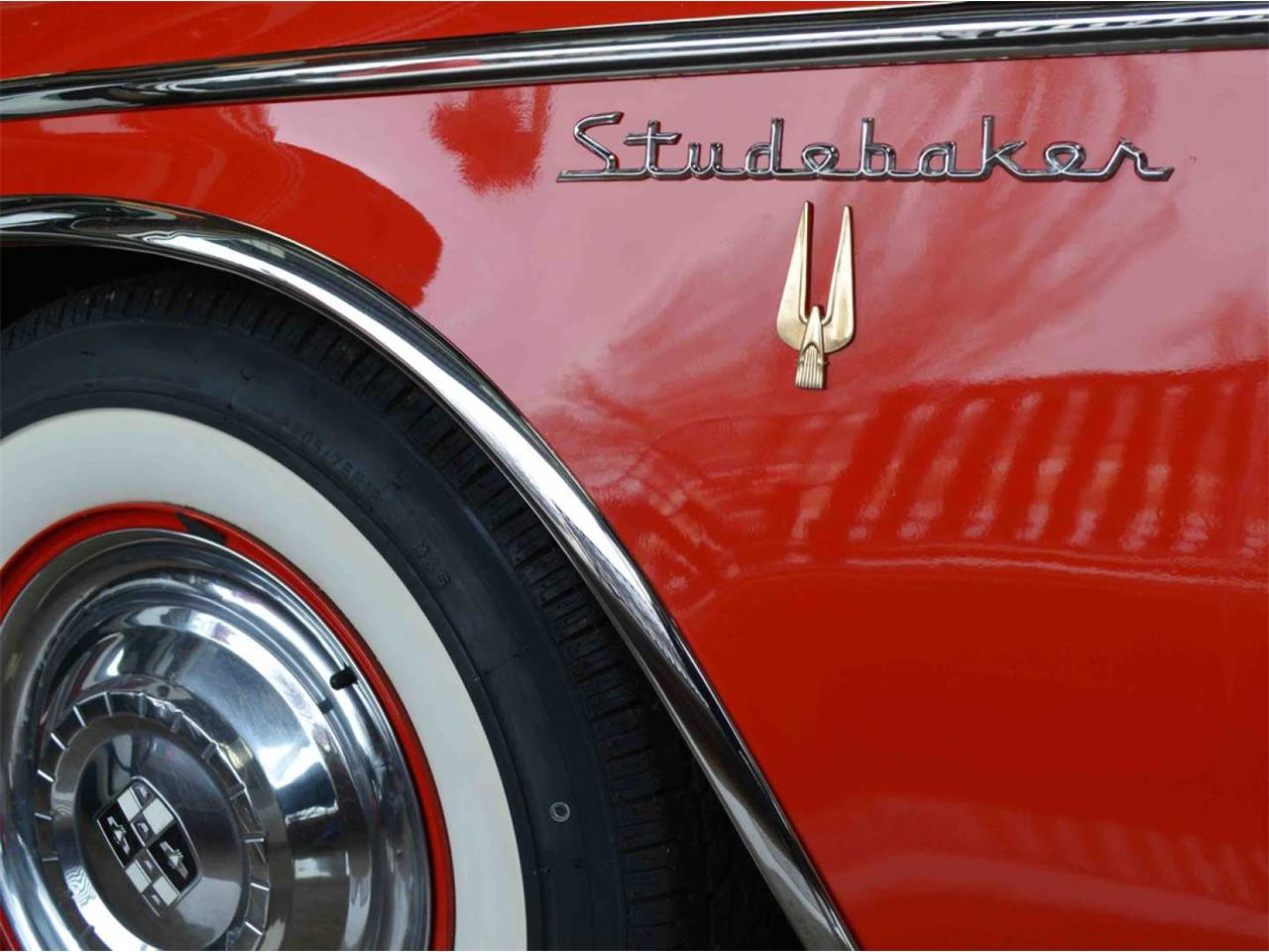 Large Picture of Classic 1957 Studebaker Golden Hawk Auction Vehicle - Q9I6