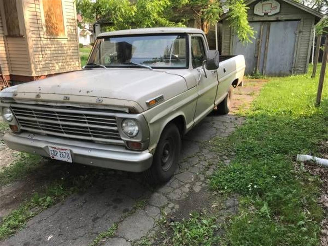 Large Picture of '69 F100 - Q9K3