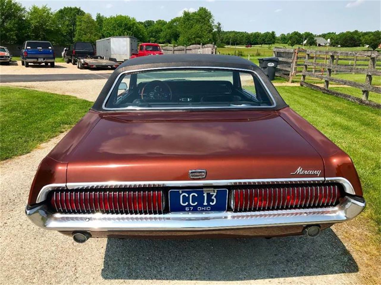 Large Picture of 1967 Mercury Cougar located in Indiana - $13,900.00 Offered by 500 Classic Auto Sales - Q9KW