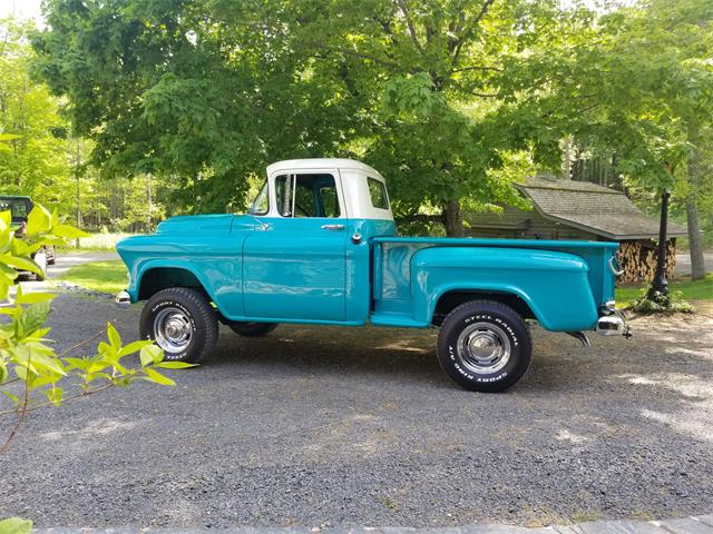 Picture of 1957 Chevrolet 1/2-Ton Shortbox located in Rice Lake Wisconsin Offered by a Private Seller - Q9NT