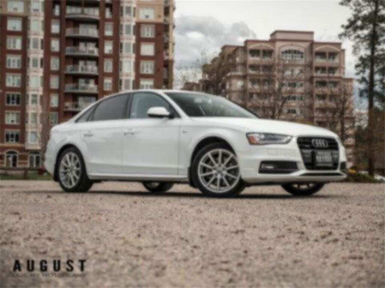 Large Picture of 2016 Audi A4 located in Kelowna British Columbia - Q9PX