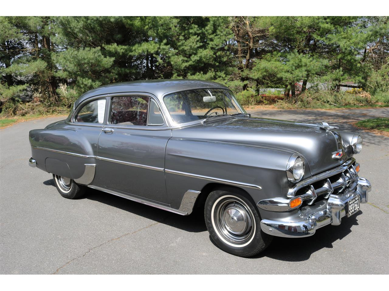 Large Picture of Classic '54 Chevrolet Bel Air located in Winchester Virginia - Q5TA