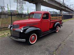 Picture of Classic 1946 Chevrolet Pickup located in Washington Auction Vehicle Offered by Lucky Collector Car Auctions - Q5TC