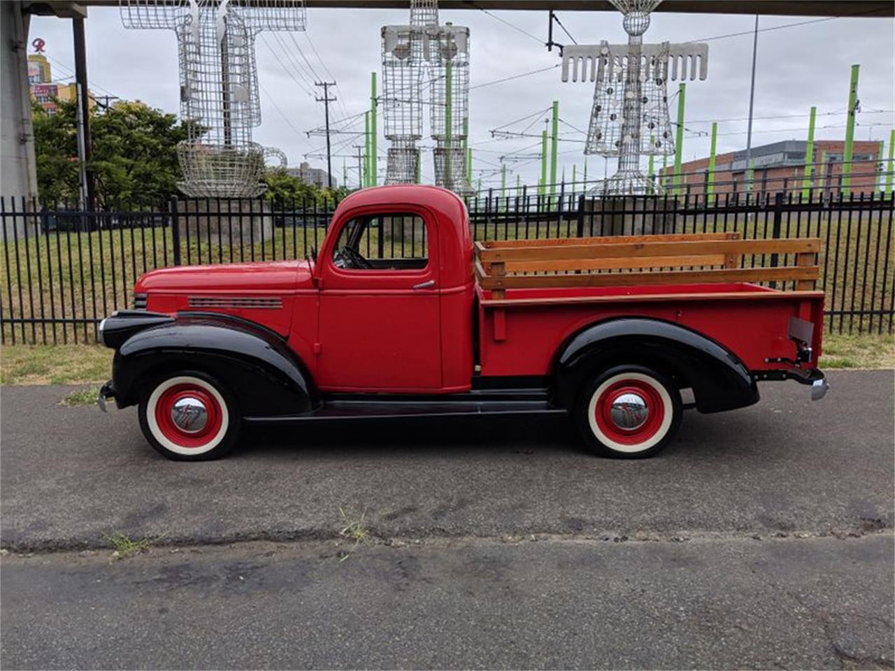 Large Picture of Classic '46 Pickup located in Tacoma Washington Auction Vehicle Offered by Lucky Collector Car Auctions - Q5TC