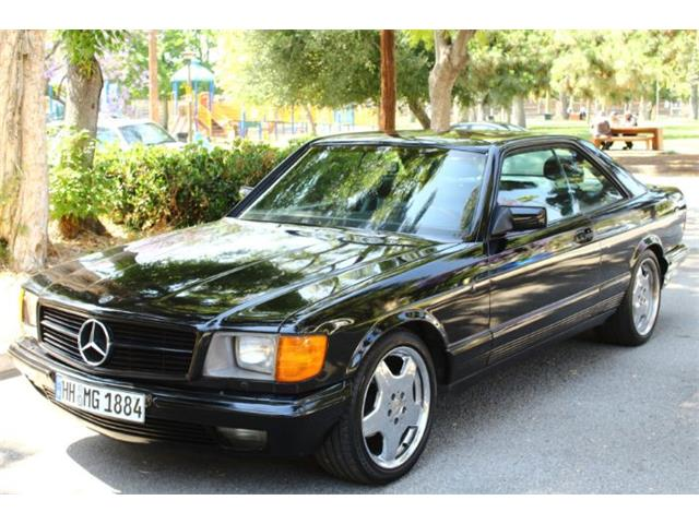Classic Mercedes-Benz 560SEC for Sale on ClassicCars com on