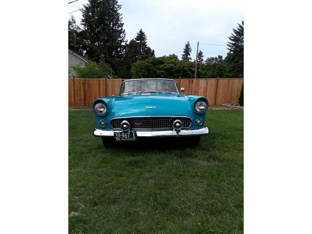 Large Picture of '56 Ford Thunderbird - Q5U3