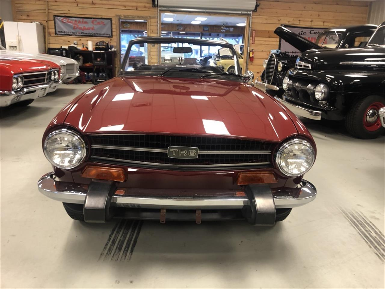 Large Picture of '74 TR6 - QA8M