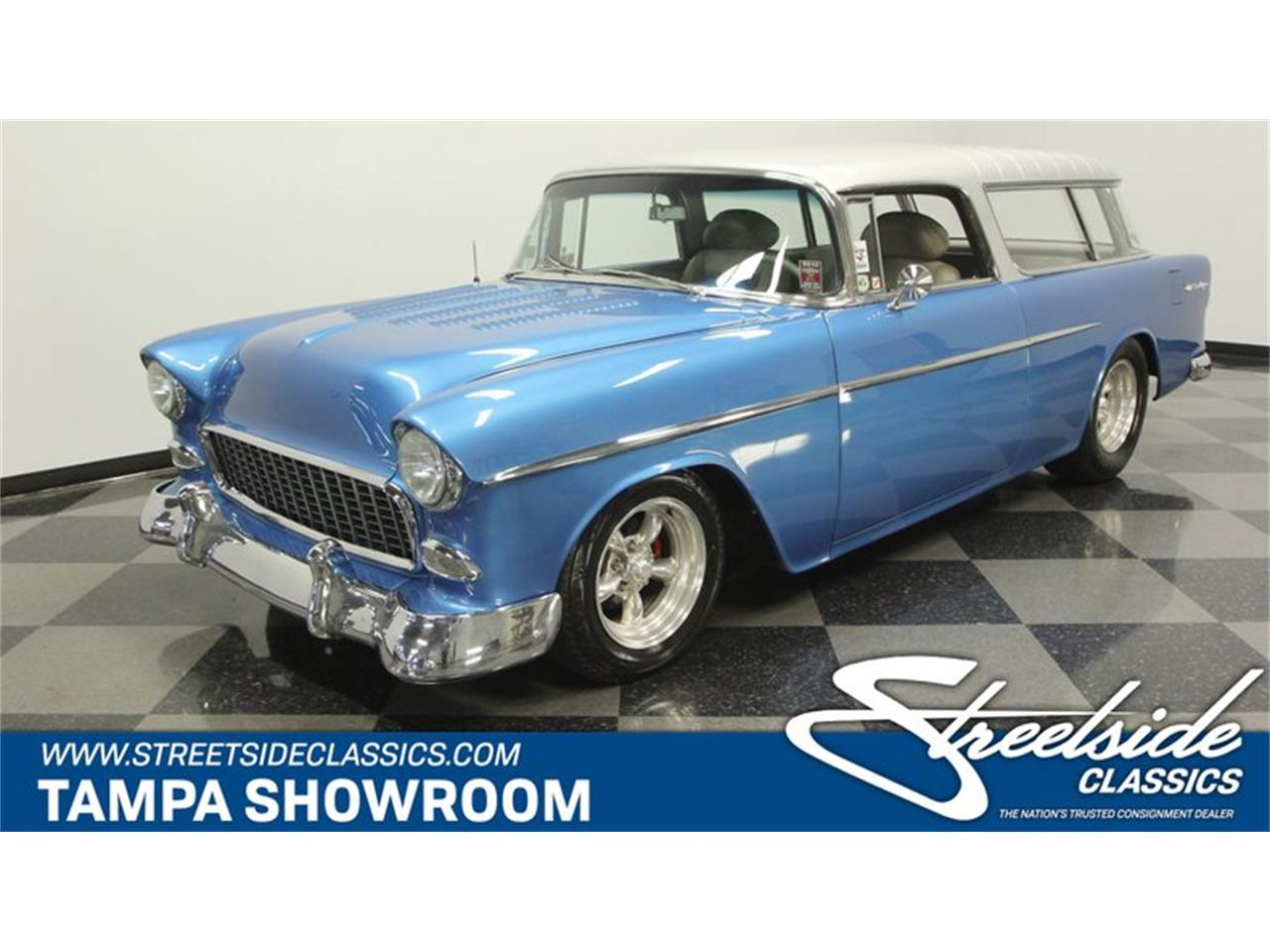 Large Picture of '55 Chevrolet Nomad - $64,995.00 Offered by Streetside Classics - Tampa - QA9W