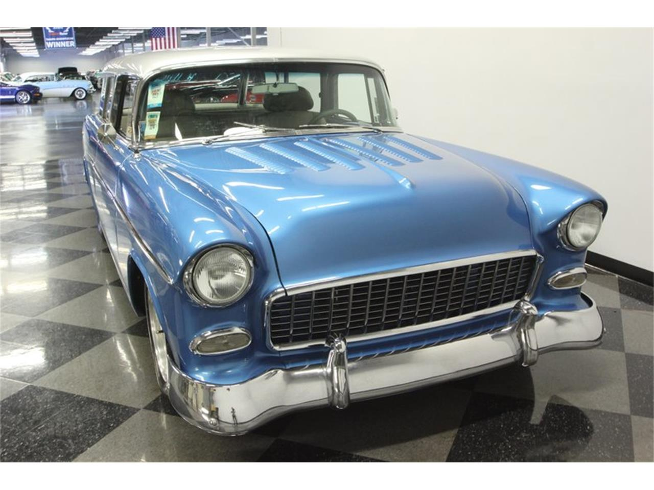 Large Picture of Classic 1955 Nomad located in Lutz Florida Offered by Streetside Classics - Tampa - QA9W
