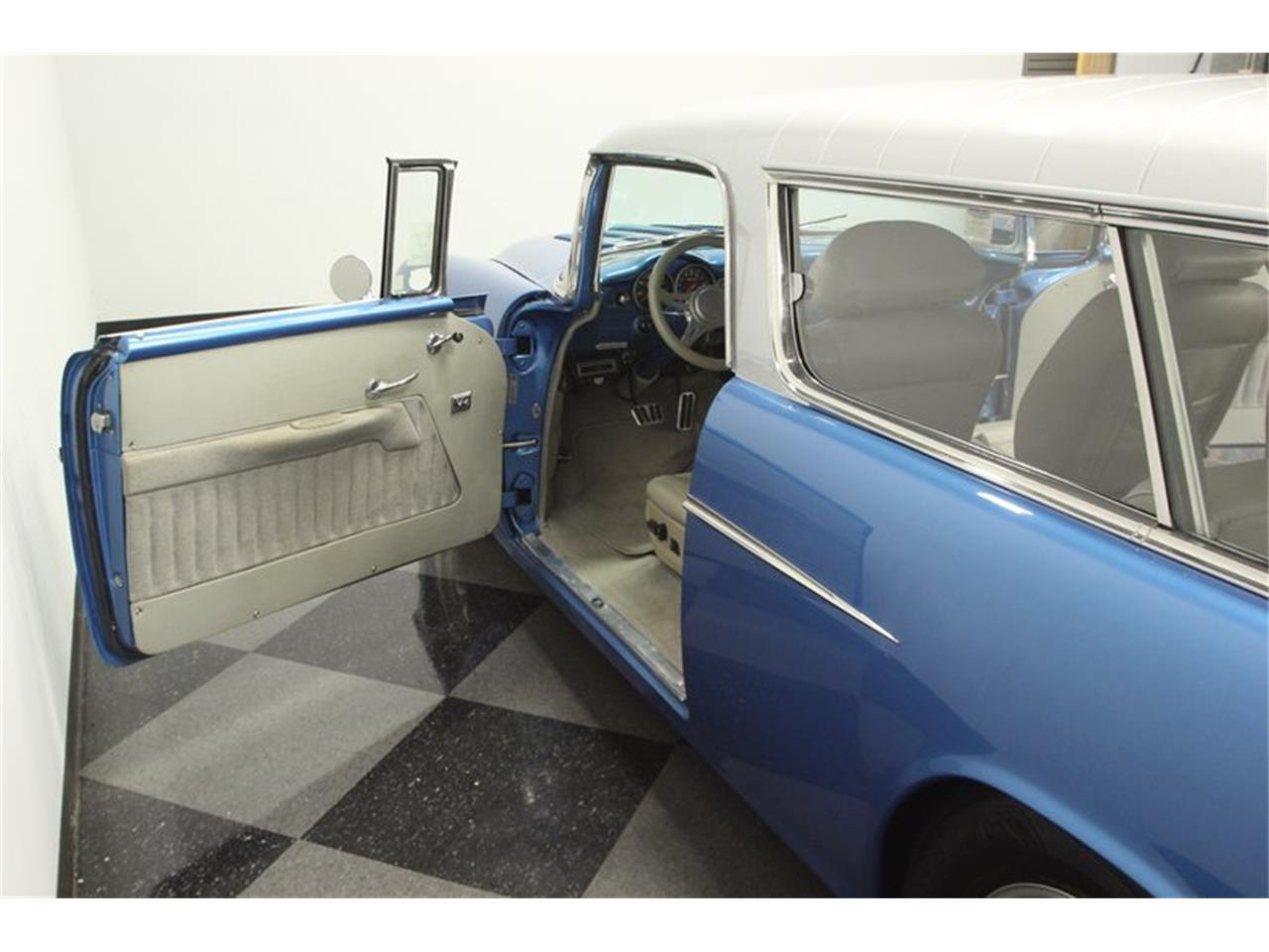 Large Picture of Classic '55 Chevrolet Nomad located in Lutz Florida Offered by Streetside Classics - Tampa - QA9W