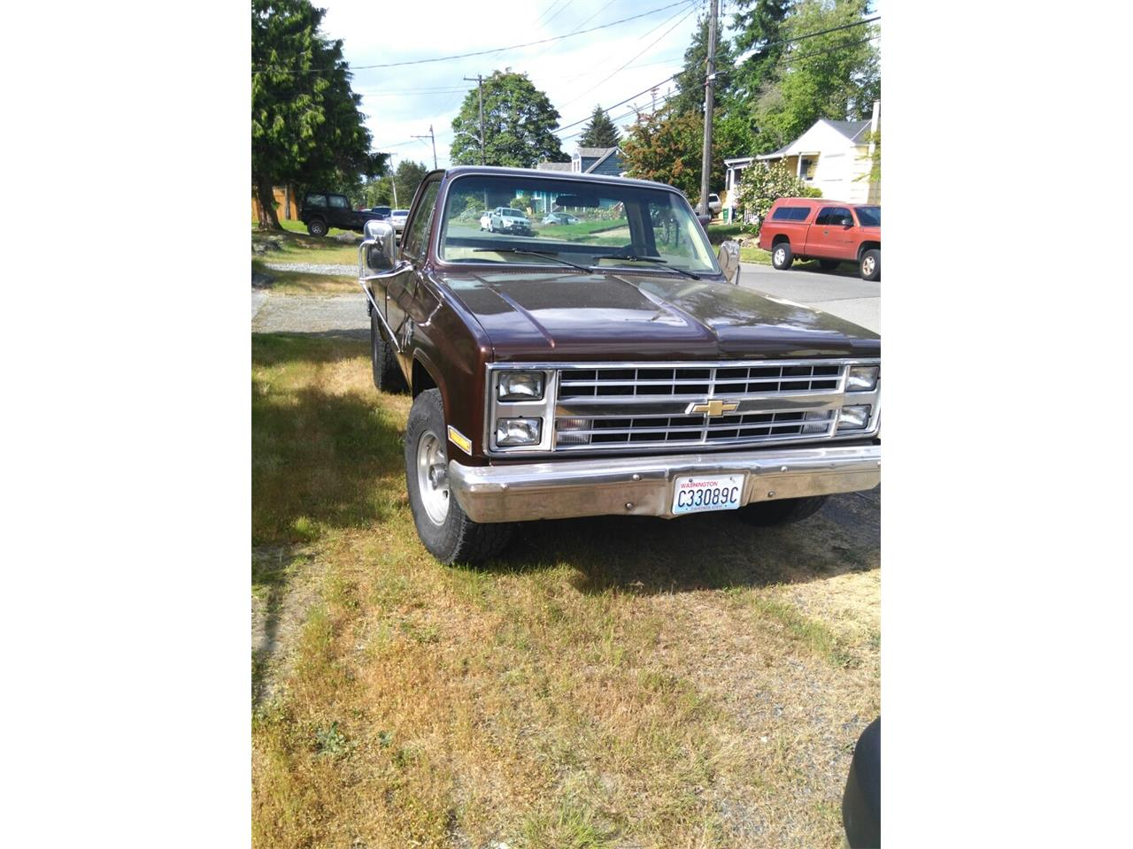 Large Picture of '85 Chevrolet C20 Auction Vehicle - Q5UP