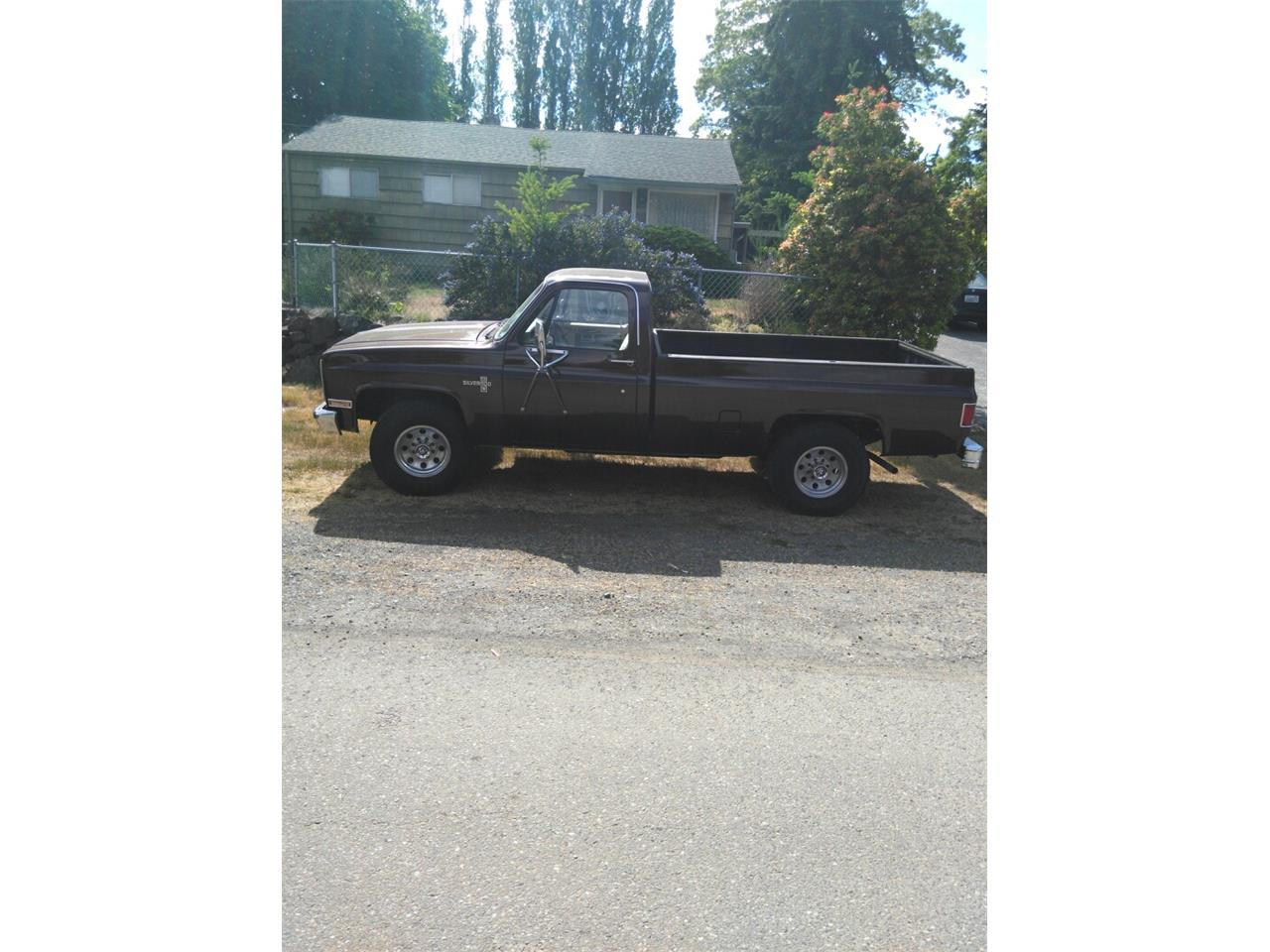 Large Picture of 1985 Chevrolet C20 located in Washington - Q5UP