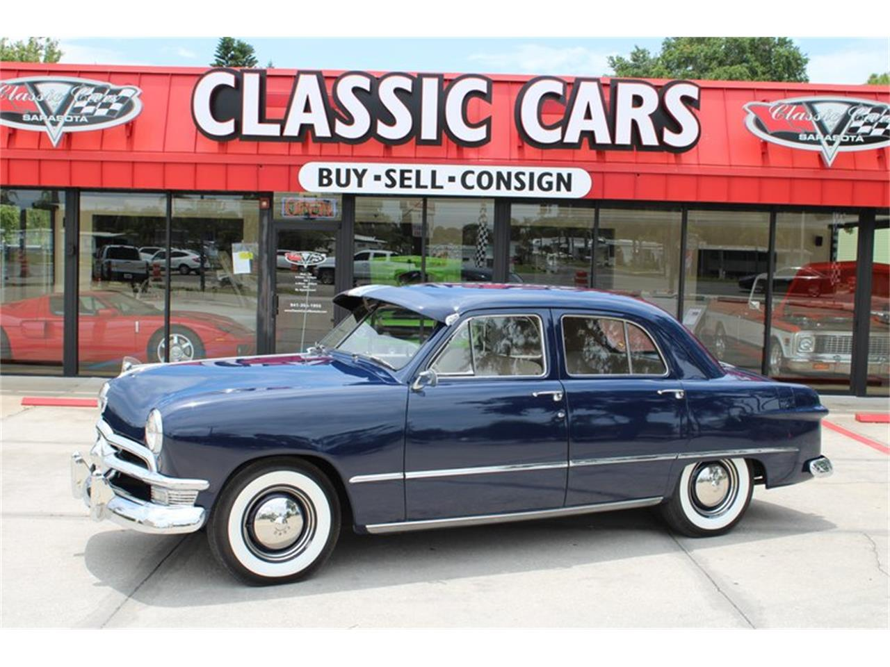 Classic Cars Of Sarasota >> For Sale 1950 Ford Deluxe In Sarasota Florida