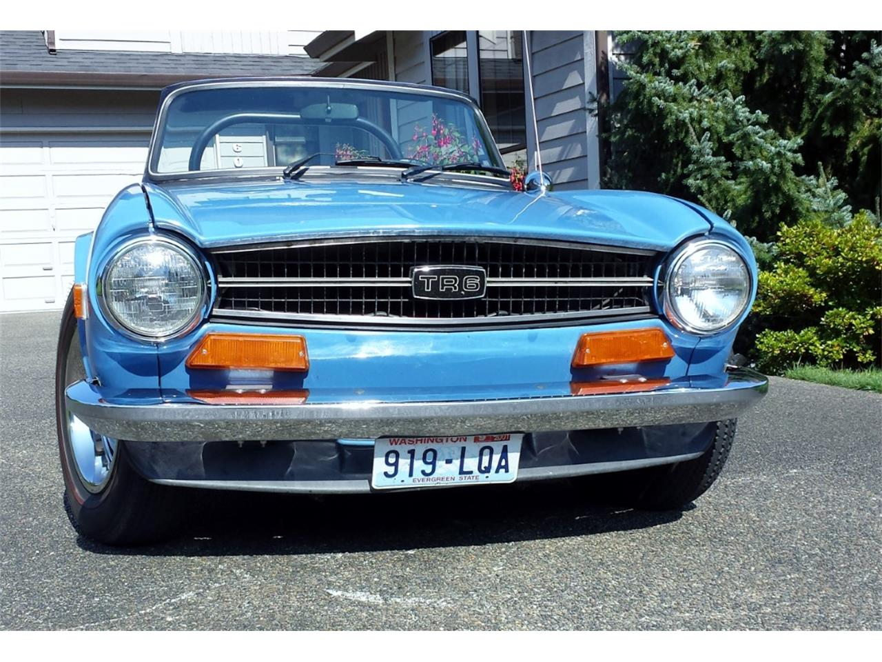 Large Picture of '74 TR6 - Q5UR