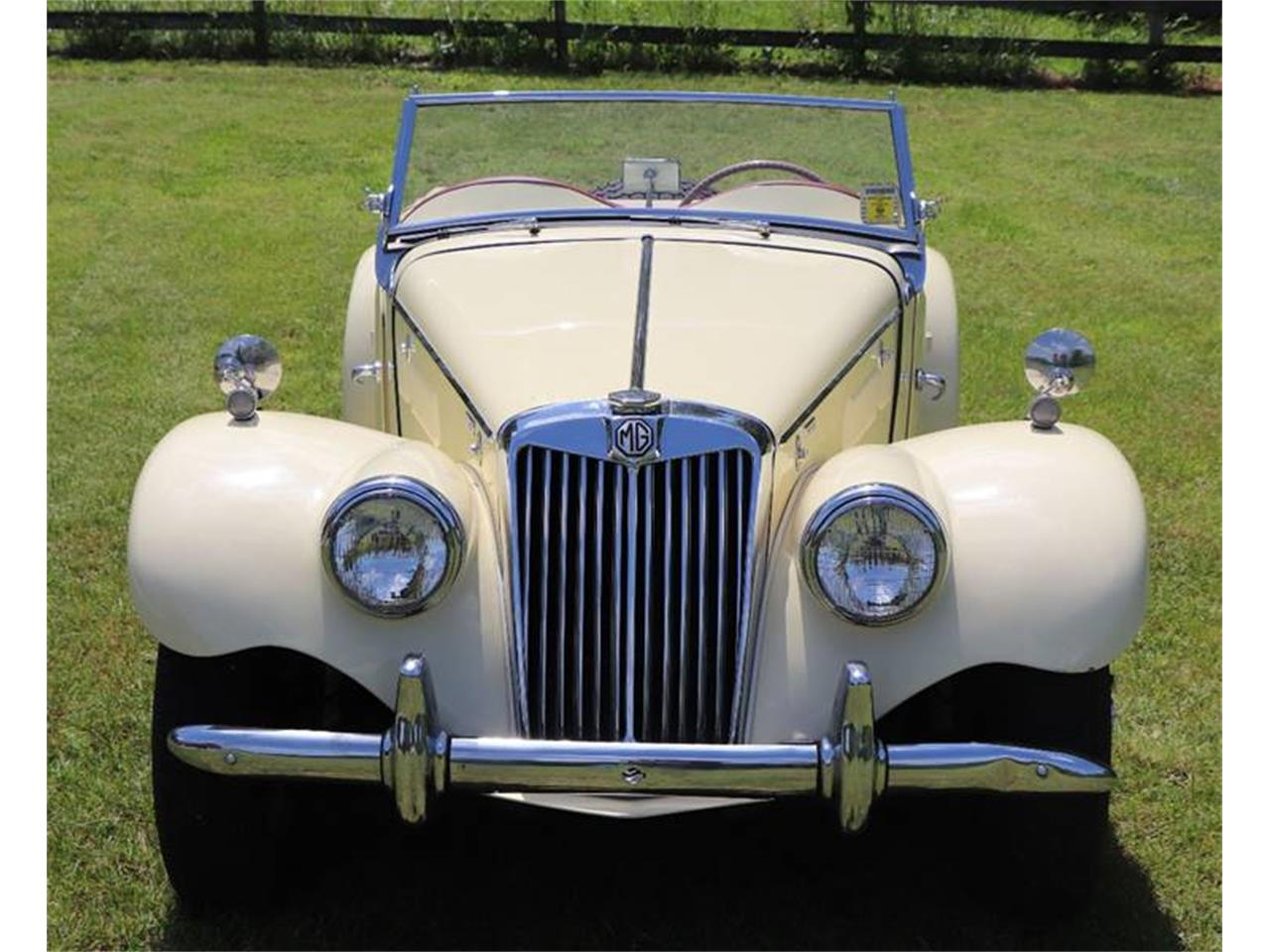 Large Picture of Classic 1955 MG TF - QAD0