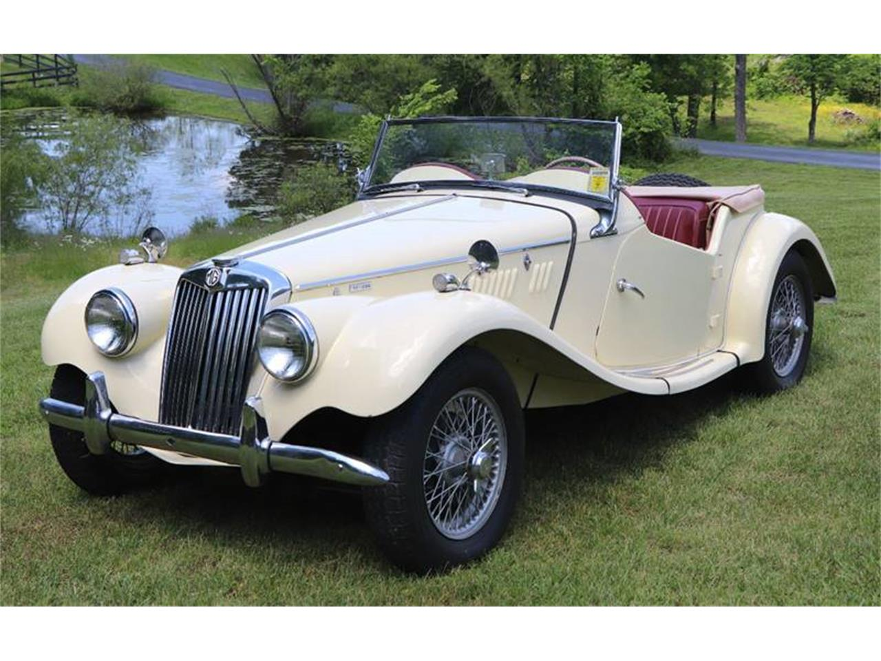 Large Picture of 1955 MG TF located in Missouri Offered by It's Alive Automotive - QAD0