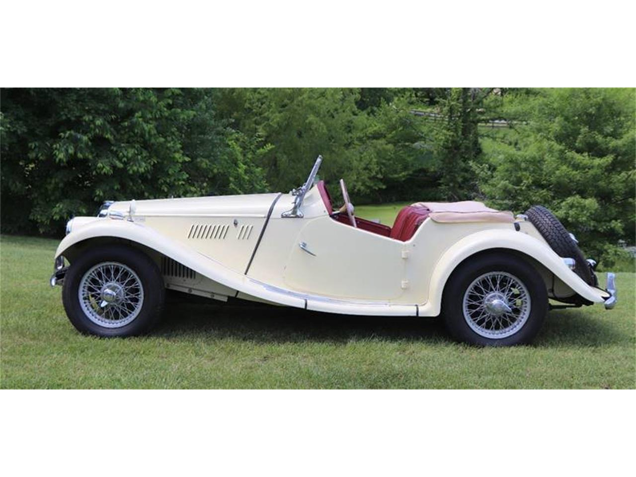 Large Picture of Classic '55 MG TF - QAD0