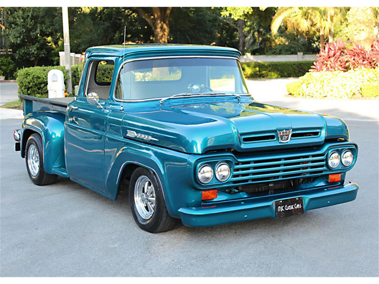 Large Picture of '59 F100 located in Lakeland Florida Offered by MJC Classic Cars - QAHS